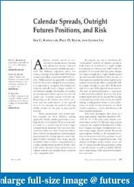 Spread / Pairs Trading - the allure and the reality-kawallerfutures.pdf