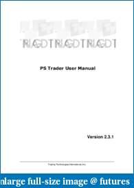 X-Trader Trading Platform-ps-trader-user-manual.pdf