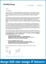CME Group to Close Most Open Outcry Futures Trading in Chicago and New York by July;-member-letter.pdf
