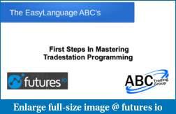 Webinar: EasyLanguage ABC's: Mastering TradeStation