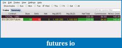 Sharp2be, eMini trading journal-ib-20091118.png