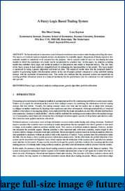STF discretionary spot Forex system development journal-10.1.1.90.5035.pdf