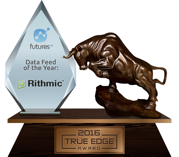 Data Feed of the Year: Rithmic
