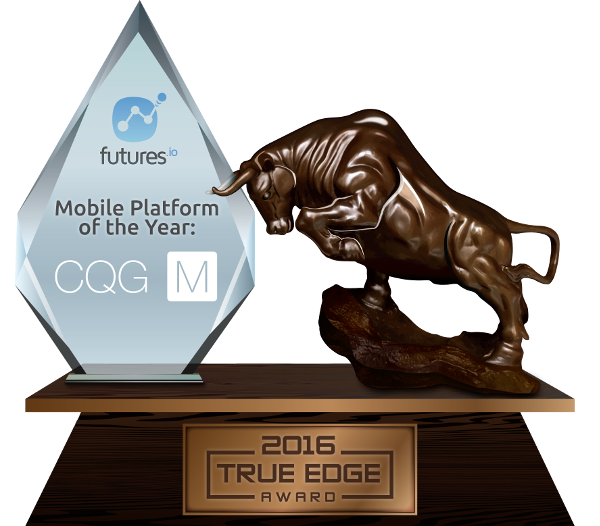 Mobile Platform of the Year: CQG M