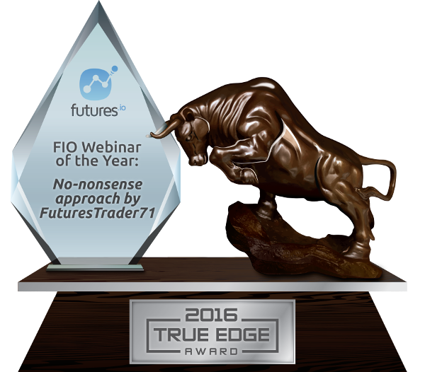 FIO Webinar of the Year: No-nonsense approach by FuturesTrader71